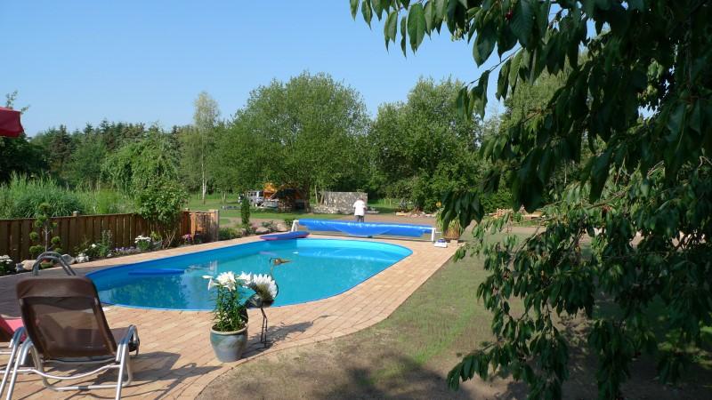 Fertigstellung von poolanlagen